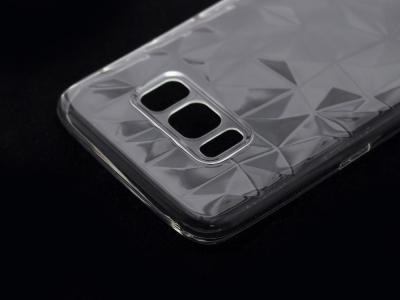 Силиконов гръб PRISM за Samsung Galaxy S8 2017 G950, Прозрачен