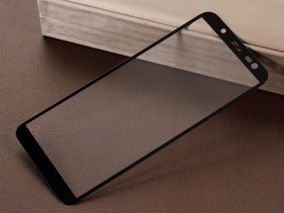 Стъклен Протектор 5D за Samsung Galaxy J6 2018, Черен