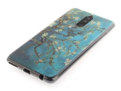 Силиконов Гръб за Huawei Mate 10 Lite / Maimang 6 / nova 2i , Бадемово дърво