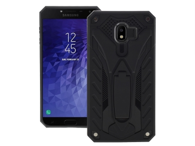 Удароустойчив гръб PHANTOM за Samsung Galaxy J4 2018 J400, Черен