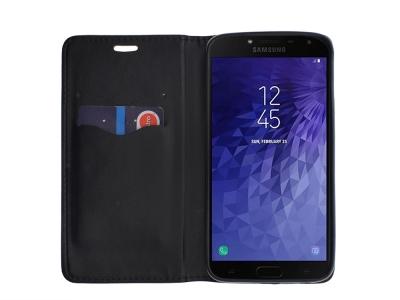 Калъф Тефтер Magnet Book за Samsung Galaxy J4 2018 J400, Черен