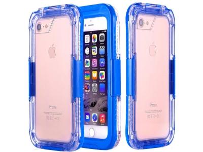 Водоустойчив калъф Waterproof за iPhone 7 / 8 / iPhone SE 2020(4.7), Син
