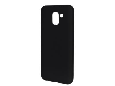 Силиконов Гръб Level за Samsung Galaxy J6 2018, Черен