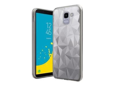 Силиконов гръб PRISM за Samsung Galaxy J6 2018 J600, Прозрачен