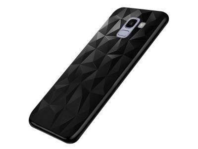 Силиконов гръб PRISM за Samsung Galaxy J6 2018 J600, Черен