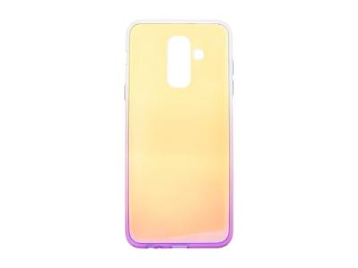 Силиконов гръб OMBRE BLUERAY за Samsung Galaxy A6  Plus 2018, Лилав