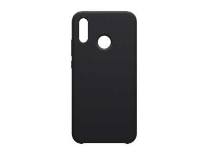 Пластмасов гръб LUX за Huawei P20 Lite, Черен