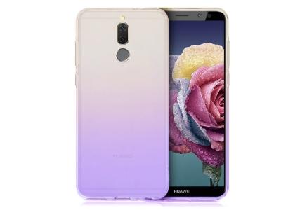 Силиконов гръб OMBRE BLUERAY за Huawei Mate 10 Lite, Черен