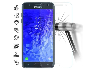 Стъклен Протектор 3D за Samsung Galaxy J7 2018, Прозрачен