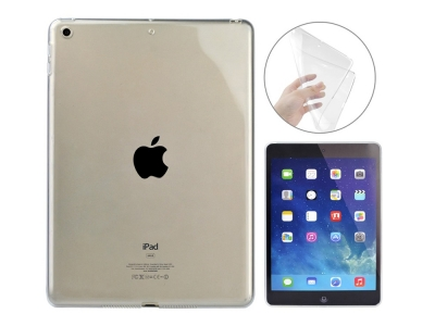 Силиконов Гръб за iPad 9.7 (2018) / 9.7 (2017), Прозрачен