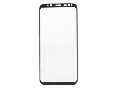 Стъклен Протектор RURIHAI 3D за Samsung Galaxy S8 G950, Черен