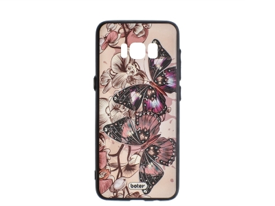 Пластмасов гръб Boter за Samsung Galaxy S8 Plus G955 , Пеперуди