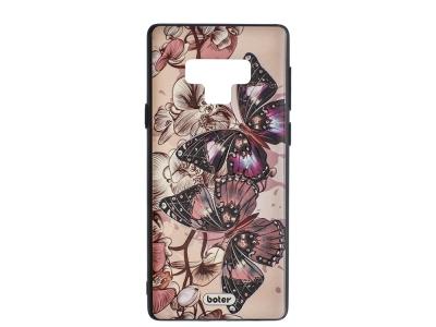 Пластмасов гръб Boter за Samsung Galaxy Note 9 N960 , Пеперуди