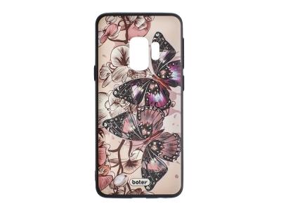 Пластмасов гръб Boter за Samsung Galaxy S9 G960, Пеперуди