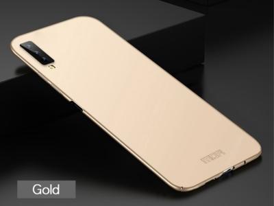 Пластмасов Гръб MOFI за Samsung Galaxy A7 (2018) A750 , Златист