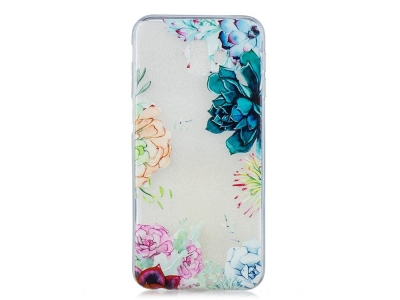 Силиконов гръб Samsung Galaxy J6 Plus , Цветя