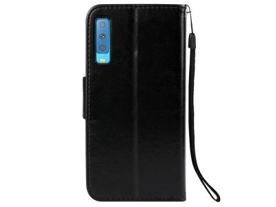Калъф Тефтер за Samsung Galaxy  A7 (2018) A750 , Черен