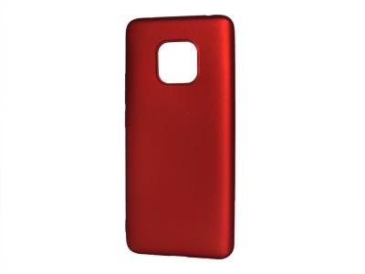Силиконов Гръб Level за Huawei Mate 20 Pro, Червен