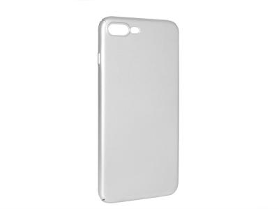 Пластмасов гръб за iPhone 7 Plus / iPhone 8 Plus, Сребрист