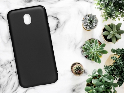 Пластмасов гръб за Samsung Galaxy J7 2017 (J730), Черен