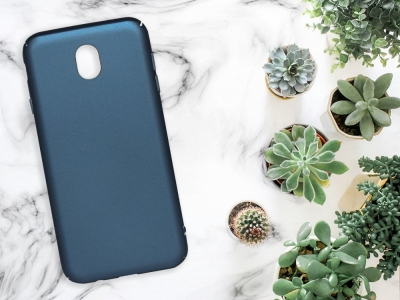 Пластмасов гръб за Samsung Galaxy J7 2017 (J730), Син