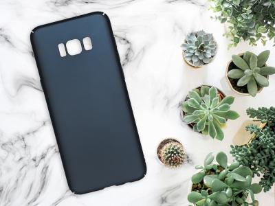 Пластмасов гръб за Samsung Galaxy S8 Plus (G955), Син