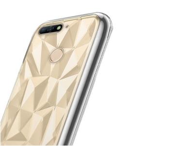 Силиконов гръб PRISM за Huawei Y6 2018 / Y6 Prime 2018, Прозрачен