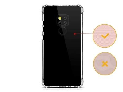 Силиконов гръб Anti Shock 0,5mm за Huawei Mate 20, Прозрачен