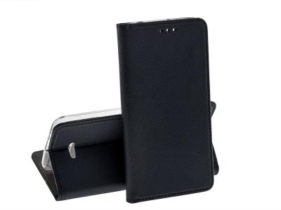 Калъф тефтер Smart Book за Xiaomi Redmi 6, Черен