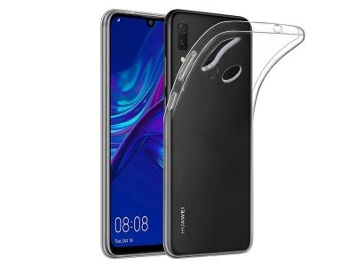 Силиконов гръб за Huawei P Smart 2019, Прозрачен