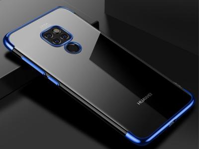 Силиконов гръб CAFELE за Huawei Mate 20, Син