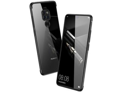 Силиконов гръб CAFELE за Huawei Mate 20, Черен