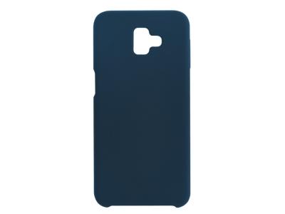 Пластмасов Гръб LUX за Samsung Galaxy J6 Plus, Тъмно син