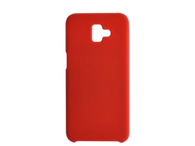 Пластмасов Гръб LUX за Samsung Galaxy J6 Plus, Червен
