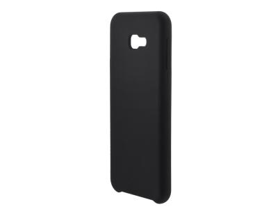 Пластмасов Гръб LUX за Samsung Galaxy J4 Plus, Черен