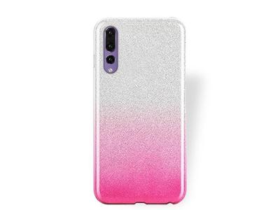 Силиконов Гръб BLING за Huawei P20 Pro, Розов