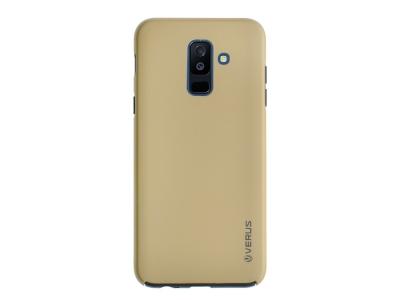 360 Градуса Калъф за Samsung Galaxy A6 Plus 2018, Златист