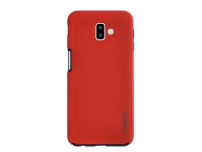 360 Градуса Калъф за Samsung Galaxy J6 Plus , Червен