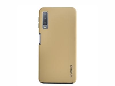 360 Градуса Калъф за Samsung Galaxy A7 2018 A750, Златист
