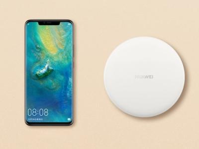 Оригинално зарядно Huawei CP60 Wireless Super Fast, Бял