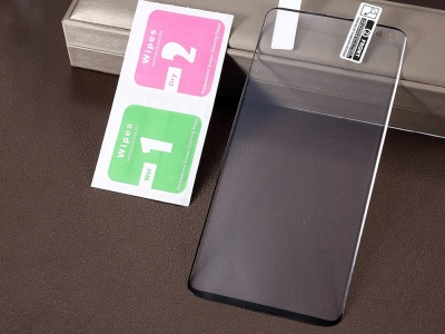Протектор Full за Samsung Galaxy S10 Plus , Черен