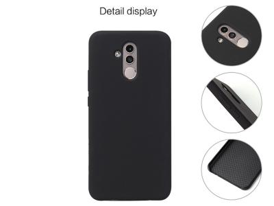 Силиконов Гръб HOWMAK за Huawei Mate 20 Lite / Maimang 7, Черен