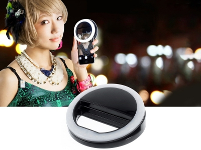 Външна LED-светкавица с 36 диода, Черен