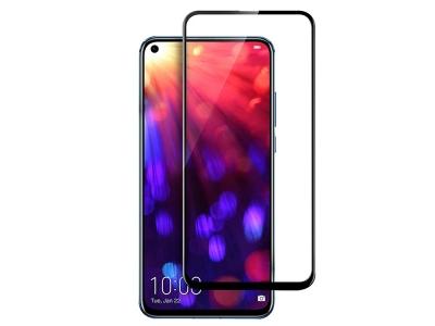 Стъклен протектор 5D Full Glue за Huawei Honor View 20, Черен