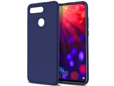 Силиконов гръб Twill за Huawei Honor View 20 / Honor V20, Син