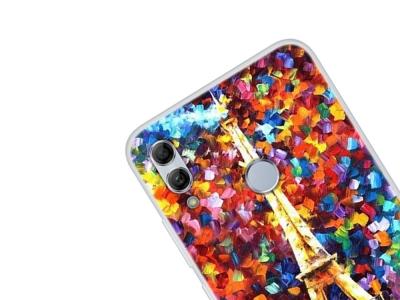 Силиконов Гръб за Huawei Honor 10 Lite / P Smart (2019) , Айфеловата кула