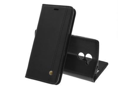 Калъф тефтер Prestige за Huawei Y7 Prime, Черен