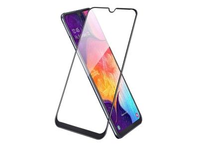 Стъклен Протектор 5D Full Glue за Samsung Galaxy A50// Galaxy A30s, Черен
