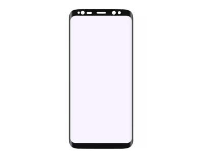 Удароустойчив Протектор 6D Nano Full за Samsung Galaxy S8 Plus, Черен