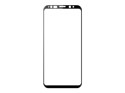 Удароустойчив Протектор 6D Nano Full за Samsung Galaxy S9, Черен